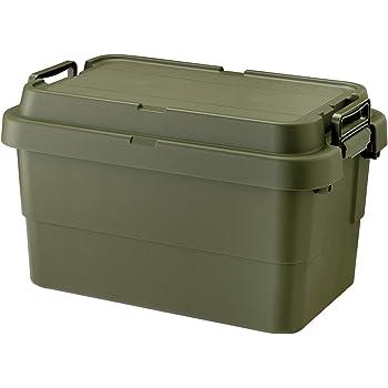 リス 収納ボックス トランクカーゴ 50L グリーン 日本製 TC-50S