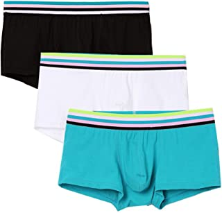 Men's Underwear 3 Pack Cotton Stretch Low Rise Trunks