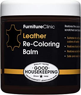 Sponsored Ad - Furniture Clinic Leather Recoloring Balm (8.5 fl oz) - Leather Color Restorer for Furniture, Repair Leather...