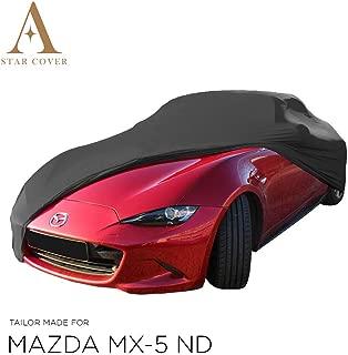 Blanc Housse B/ÂCHE Auto Garage Oldtimer Housse Cabriolet LIVR/É Rapide Star Cover Housse Voiture INT/ÉRIEUR Mazda MX-5 ND Voiture DE Sport
