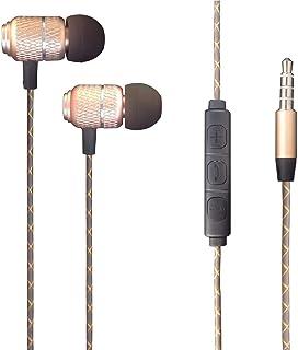 Moto E7i Power - Hörlurar In-Ear Hörlurar med 3,5 mm Jack [Fjärrkontroll & mikrofon] Bullerisolerande, High Definition For...