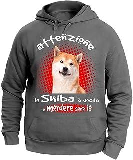 Vendax Tamponando Shiba Inu Divertente Bambini Ragazzi Ragazze Unisex Maglietta Bianca