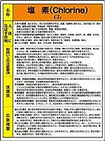 特定化学物質標識 815-11A 塩素