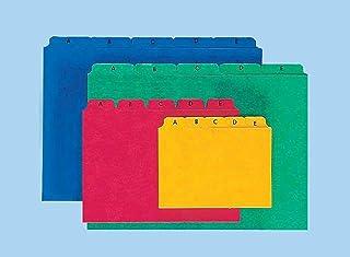 colore: Giallo 100 pezzi per registri fino a 20 fogli A4 Fogli divisori Easy Rip in cartone robusto Pagna 44063-05