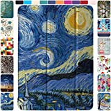 DuraSafe Cases for iPad PRO 12.9-4 Gen MY2H2LL/A MXAT2LL/A MXAV2LL/A MXAX2LL/A MY2J2LL/A MXAU2LL/A MXAW2LL/A MXAY2LL/A Ultra Slim Supportive Classic Case with Adjustable Stand Feature - Starry Night