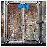Cuadrado Básculas digitales de peso corporal ultradelgadas de vidrio templado...