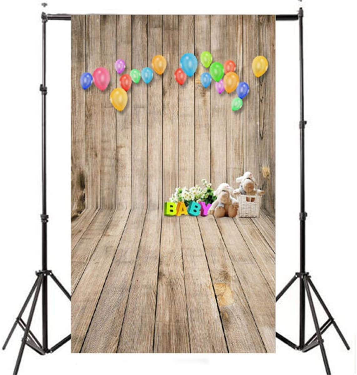Teerwere Backdrop Stand 3x5ft Max Very popular! 86% OFF Wall Baby Photography Floor Cloth