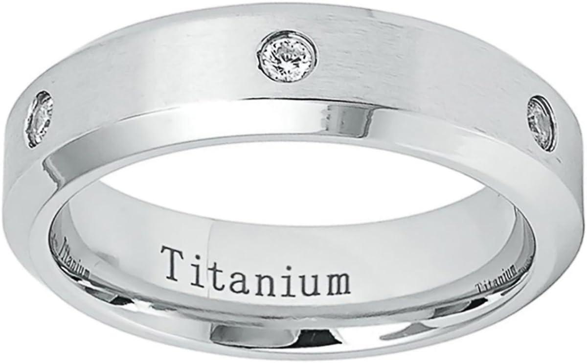 Prime Pristine Personalized 2021 Max 56% OFF new Inside Titanium Wedding Ba Engraving