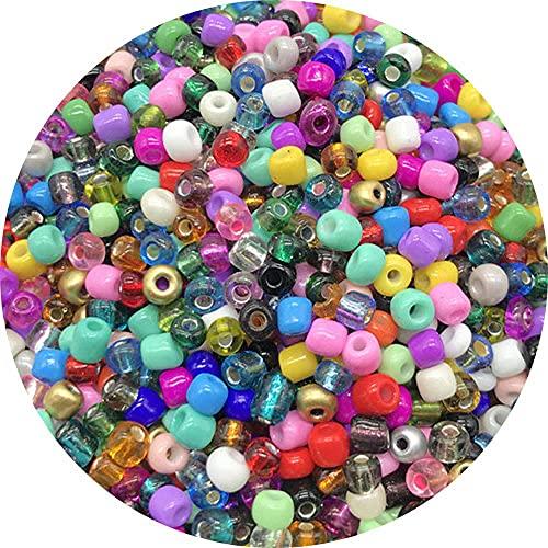 Cuentas de semillas de cristal 4 mm 200 UDS Pulsera Collar Cuentas para la fabricación de joyería Collar de fabricación DIY Pendientes-40