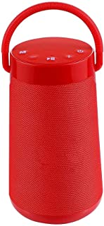 $126 » LKYBOA Outdoor Portable Handle Fabric Bluetooth Speaker Can Insert Card Radio Bluetooth Audio Subwoofer (Color : Red)