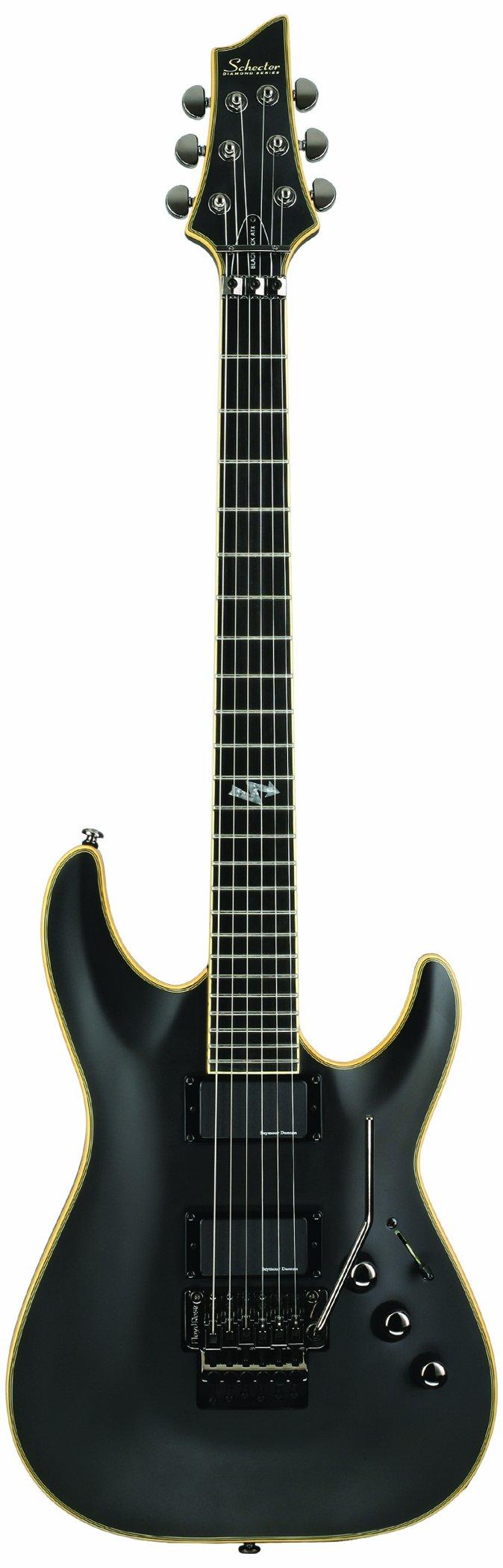 Cheap Schecter Blackjack ATX C-1 FR Electric Guitar Aged Black Satin (ABSN) Black Friday & Cyber Monday 2019