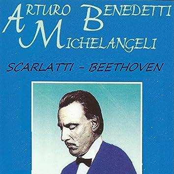 Arturo Benedetti Michelangeli - Scarlatti - Beethoven