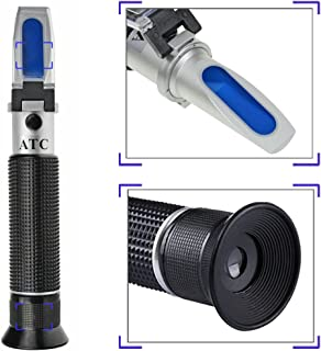 Salinity Refractometer for Seawater and Marine Fishkeeping Aquarium 0-100 PPT with..