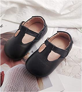 Soft Baby Shoes Genuine Leather Kids Shoes Solid Color Girls Shoes Princess Mary Jane Shoes