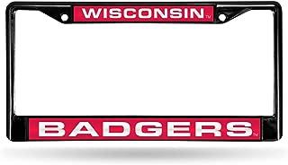 wisconsin-badgers-laser-black-license-plate-frame