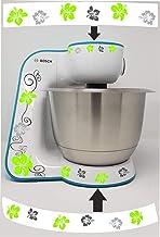 Stickers geschikt voor Bosch MUM 5 Hibiscus (groen)