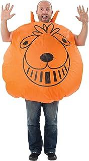 Disfraz de Pelota Saltarina Inflable Naranja Gigante Disfraces Orion