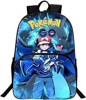 3cb5141d2b722b Pikachu Zaino Pokémon Scuola Borse Leggero per Bambini Zaino per Ragazze  Adolescenti Ragazzi Laptop Zaino Computer