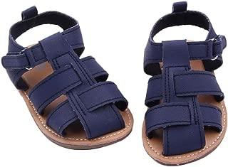 DZT1968 Baby Girl Boy PU Leather Anti Slip Sandals Shoes Prewalker