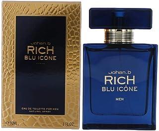Johan B Rich Blue For Men 90ml - Eau de Toilette