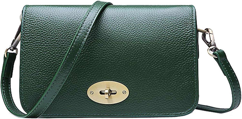 HESHE Women Leather Small Shoulder Handbags Ladies Purses Crossbody Bag Fashion Bag Satchel