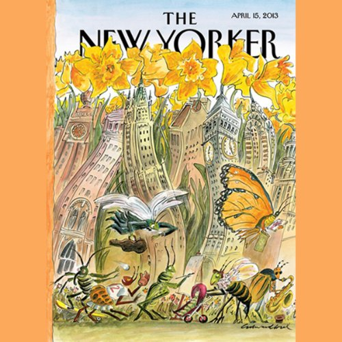 The New Yorker, April 15th 2013 (Nick Paumgarten, Nicholas Lemann, Jim Windolf) copertina
