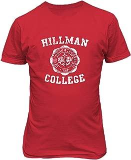 Hillman College Retro 80s Sitcom Cool Men's T-Shirt