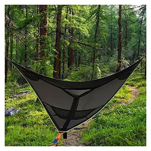 Tenda d'asta triangolare da campeggio Tenda, Multi Persona Amaca d'attaccatura dell'Ampestata, Amaca antenna dell'Aerial a 3 punti della rete all'aperto, Applicare per viaggiare, Cortile, Patio, Giard