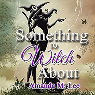 Something to Witch About audiobook cover art