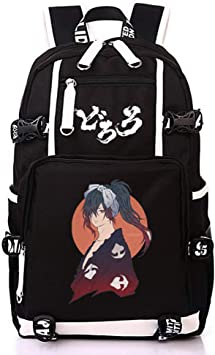 Amazon Com Dororo Backpack Black High Capacity Hyakkimaru Backpack School Season Bag Travel Bag Men S Ladies Bag A Kids Backpacks