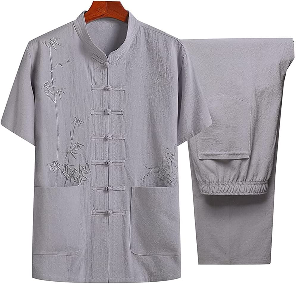 ZHANGWW Traditional Tang Kung Fu Uniform Men Import Max 83% OFF M Suit