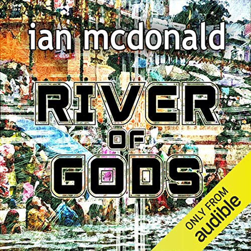 River of Gods audiobook cover art