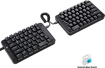 Best koolertron programmable split mechanical keyboard Reviews