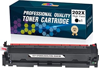 Clorisun Compatible HP 202X 202A Toner Cartridges Upgraded Replacement for HP CF500X CF500A, for HP Laserjet Pro MFP M281f...