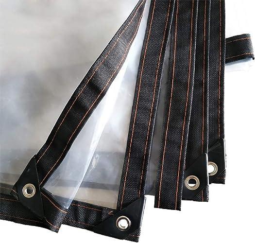HCYTPL Toile végétale épaissie en Toile de Tente Anti-Vent pour Toile de Tente Anti-Vent en Toile de Prougeection Transparente -100g   m2, 0.12mm,3  6m