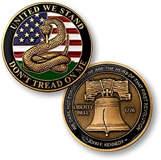 Northwest Territorial Mint Don't Tread on Me - Liberty Bell Challenge Coin…