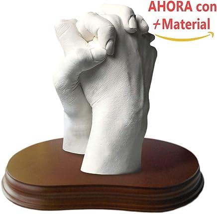 Escultura de manos en 3D (2 Manos (Con Peana), Tu&Yo)