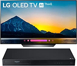 """$2493 Get LG 65"""" Class B8 OLED 4K HDR AI Smart TV 2018 Model (OLED65B8PUA) with LG Streaming 4k Ultra-HD Blu-Ray Player with Dolby Vision"""