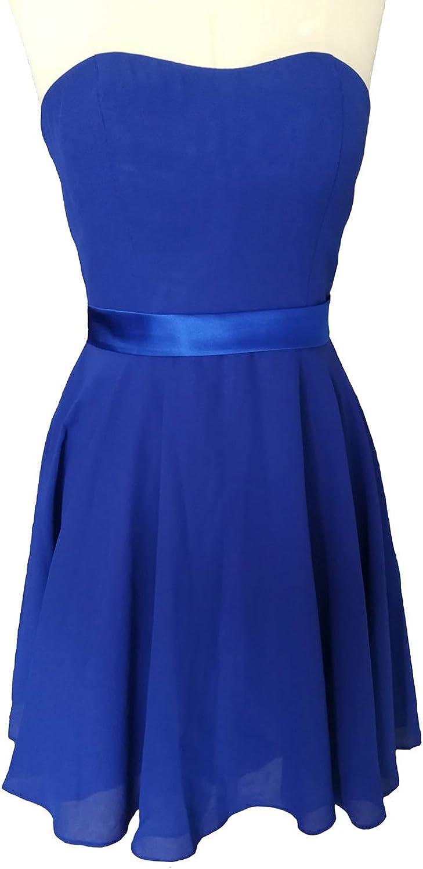 Dearta Women's ALine Sweetheart Short Mini Corset Back Homecoming Dresses Royal