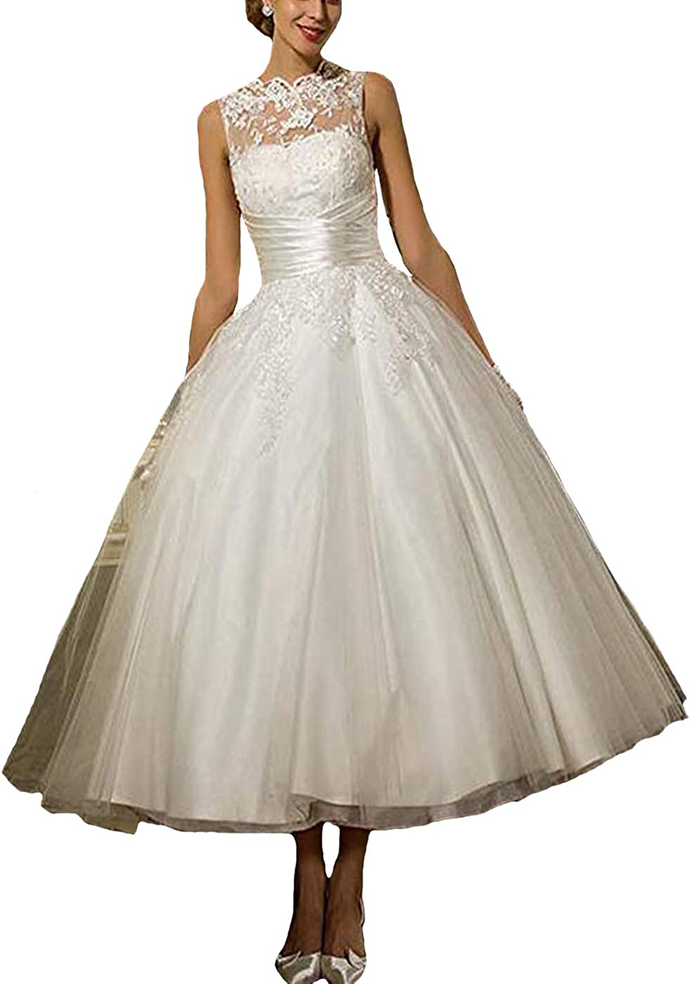 Fair Lady Lace Ball Gown Wedding Dresses 20s Princess Formal Wedding  Party Bridal Gowns