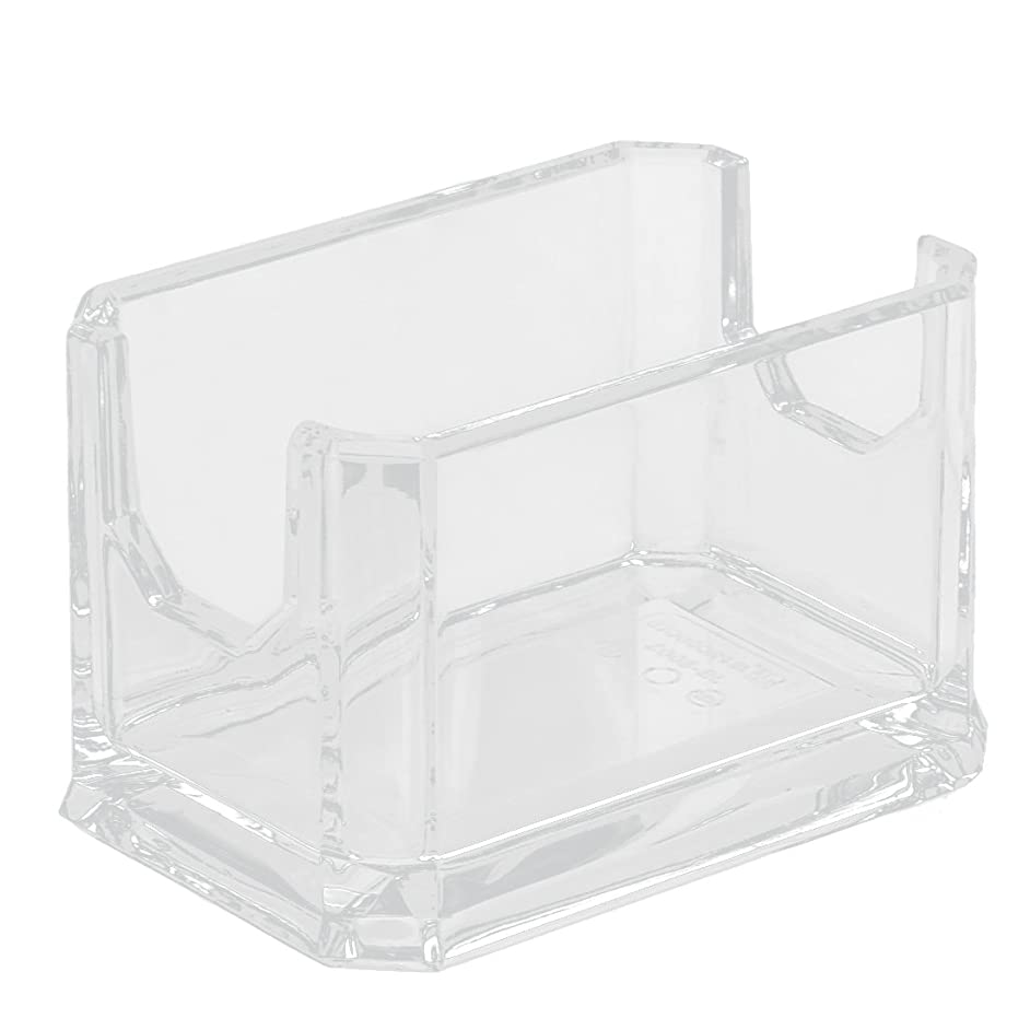 uxcell Plastic Coffee Shop Sugar Tea Bag Packet Holder Container Clear
