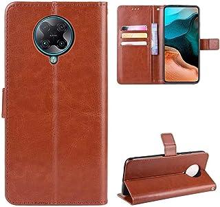Luckyandery Mi Poco F2 Pro Cover Case Leather,Mi Poco F2 Pro Flip Case with Card Holder, Stand Case Folio Book Flip Cover ...