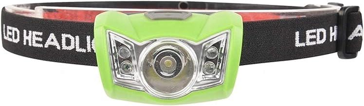 LED-koplampen IP44 Waterdichte Lampen Kunnen Worden Aangepast 3 * AAA-batterij, Geschikt Voor Camping-noodsituatie 63 * 45...