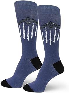 جوارب رجالي من كشاف الكشاف مطبوع عليها زوايا أزرق بحري الولايات المتحدة DEMONSTRATION/AIRSHOW