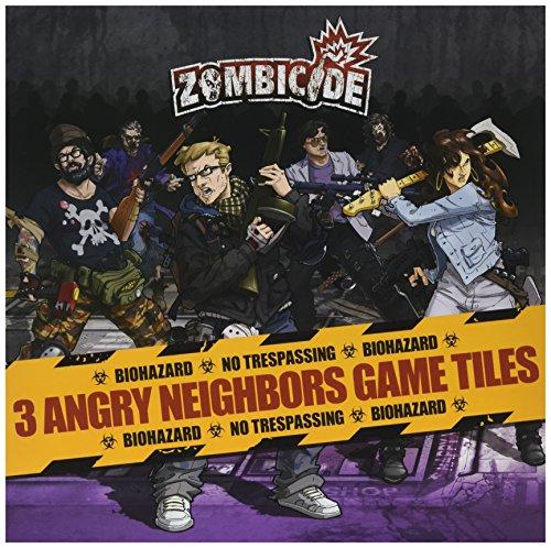 Zombicide : Lot de Carreaux Angry Neighbours