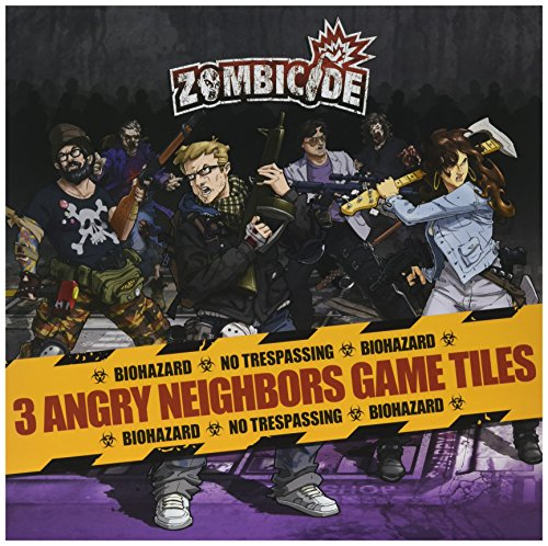 Zombicide Lot de Carreaux Angry Neighbours