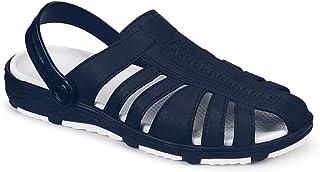 BEONZA Comfortable Clogs Sandals for Men(Blue)
