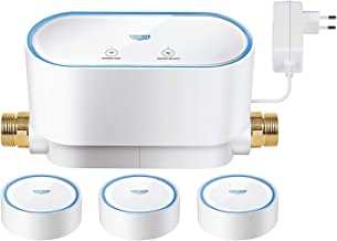 GROHE 22502LN0 Sense Set Smart Home Waterbeveiligingssysteem - 1x GROHE Sense Guard + 3x GROHE Sense, wit