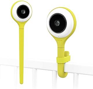 Lollipop camera cámara para bebés monitor para bebé detección de llanto multistreaming visión nocturna soporte para pared monitor para bebés wifi detección de cruce (pistachio)