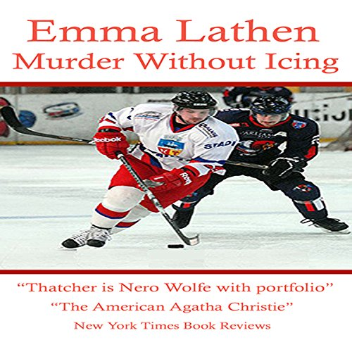 Murder Without Icing audiobook cover art